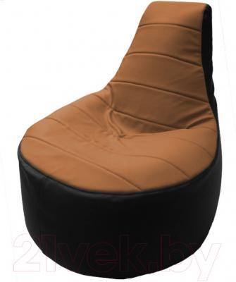 Бескаркасное кресло Flagman Трон Т1.3-07 (бежевый/черный)