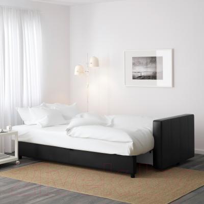 Диван-кровать Ikea Фрихетэн 603.014.63 (Бумстад черный) - в разложенном виде