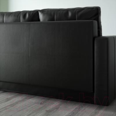 Диван-кровать Ikea Фрихетэн 603.014.63 (Бумстад черный) - вид сзади