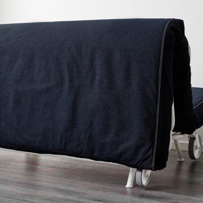 Диван-кровать Ikea Икеа/Пс Мурбо 198.744.69 (темно-синий) - вид сзади