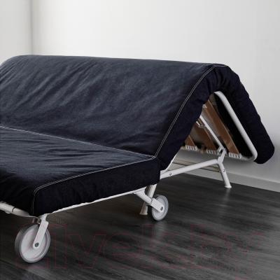 Диван-кровать Ikea Икеа/Пс Ховет 198.744.88 (темно-синий) - в процессе раскладки