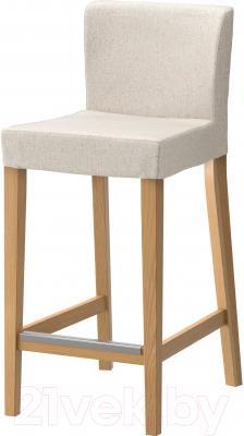 Стул Ikea Хенриксдаль 198.745.96 (дуб/линнерид неокрашенный)