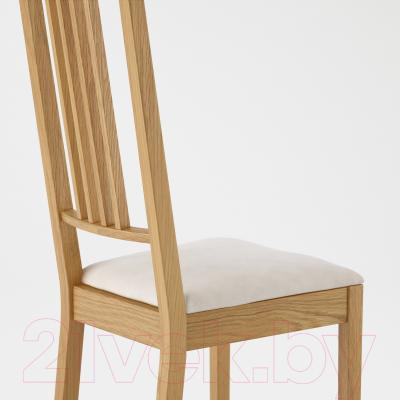 Стул Ikea Берье 198.781.27 (дуб/песочный)