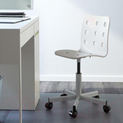 Стул офисный Ikea Юлес 198.850.43 (белый/серебристый) - в интерьере