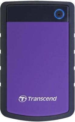 Внешний жесткий диск Transcend StoreJet 25H2P 750GB (TS750GSJ25H2P) - общий вид