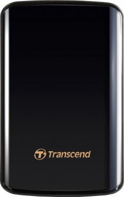 Внешний жесткий диск Transcend StoreJet 25D3 750 Gb (TS750GSJ25D3) - общий вид