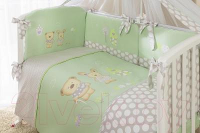 Комплект в кроватку Perina Венеция В7-02.1 (Лапушки)