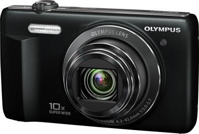 Компактный фотоаппарат Olympus D-750 Black - общий вид