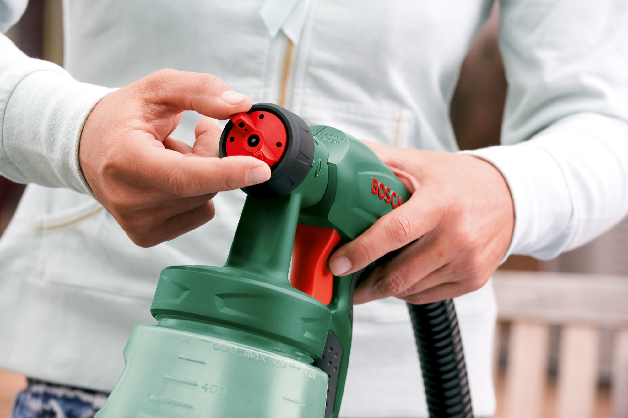 Фотография Краскопульт электрический Bosch - 2
