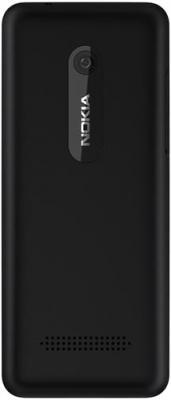 Мобильный телефон Nokia 206 Black - задняя крышка