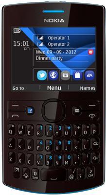 Мобильный телефон Nokia 205 Cyan - общий вид