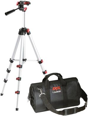 Нивелир Skil 0515 (F0150515AC + штатив) - штатив и сумка