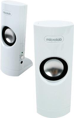 Мультимедиа акустика Microlab B 18 White (B18-3154) - общий вид