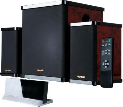Мультимедиа акустика Microlab H 200 Dark Wood (H200-3164) - общий вид