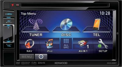 Автомагнитола Kenwood DDX-42BT - общий вид