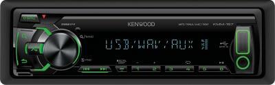 Бездисковая автомагнитола Kenwood KMM-157 - общий вид
