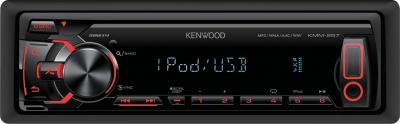 Бездисковая автомагнитола Kenwood KMM-257 - общий вид