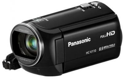 Видеокамера Panasonic HC-V110EE-K - общий вид
