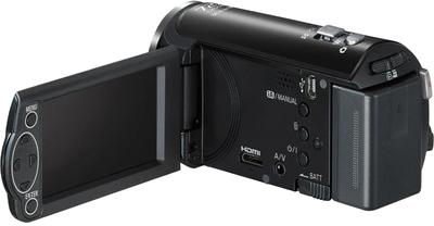 Видеокамера Panasonic HC-V110EE-K - управление