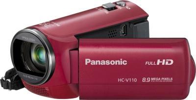 Видеокамера Panasonic HC-V110EE-R - общий вид
