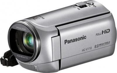 Видеокамера Panasonic HC-V110EE-S - общий вид