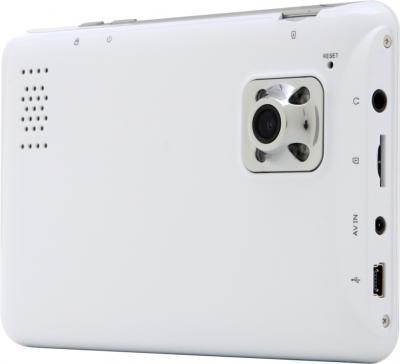 GPS навигатор Prestigio GeoVision 5800 BTHDDVR (microSD 4Gb) - вид сзади