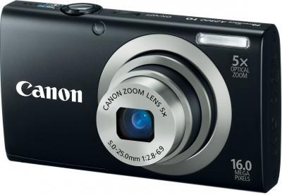 Компактный фотоаппарат Canon PowerShot A2300 Black + чехол и карта памяти - общий вид