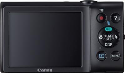 Компактный фотоаппарат Canon PowerShot A2300 Black + чехол и карта памяти - вид сзади