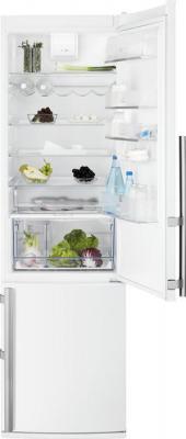 Холодильник с морозильником Electrolux EN3853AOW - общий вид