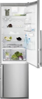 Холодильник с морозильником Electrolux EN3853AOX - общий вид