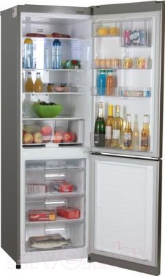 Холодильник с морозильником LG GA-M409SARA