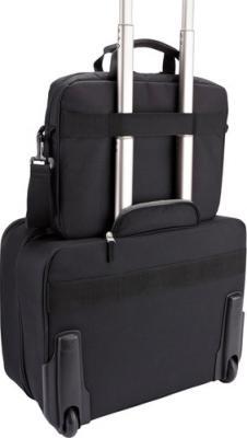 Сумка для ноутбука Case Logic AUA-316 - в сцепке с чемоданом
