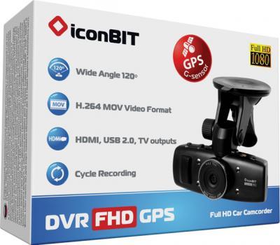 Автомобильный видеорегистратор IconBIT DVR FHD GO - коробка