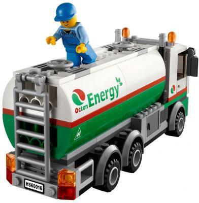 Конструктор Lego City Бензовоз (60016) - общий вид