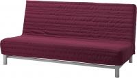 Диван-кровать Ikea Бединге Левос 391.289.84 (Книса малиновы) -