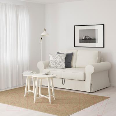 Диван-кровать Ikea Баккабру 391.336.50 (Хильте белый) - в интерьере