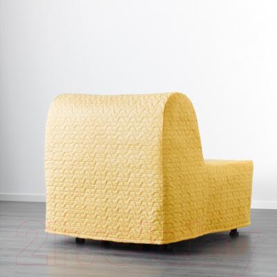 Кресло-кровать Ikea Ликселе Ховет 391.341.45 (желтый)
