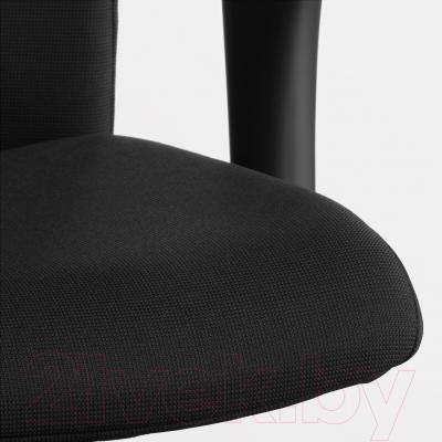 Кресло офисное Ikea Вольмар 391.372.43 (черный) - обивка из ткани