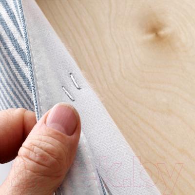 Стул Ikea Хенриксдаль 391.622.56 (коричневый/сине-белый)