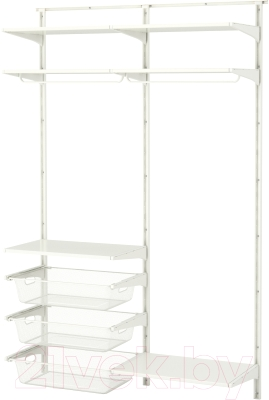 Система хранения Ikea Альгот 391.652.45