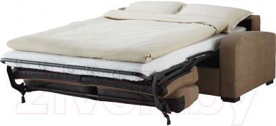 Диван-кровать Ikea Ингельстад/Ласеле 391.720.57 (Хенста светло-коричневый) - в разложенном виде