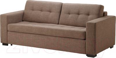 Диван-кровать Ikea Клагсторп/Ласеле 391.720.62 (светло-коричневый)