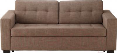 Диван-кровать Ikea Клагсторп/Ласеле 391.720.62 (светло-коричневый) - вид спереди
