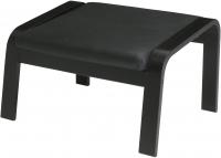Банкетка Ikea Поэнг 398.178.83 (черно-коричневый/черный) -