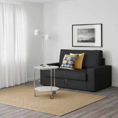 Диван-кровать Ikea Виласунд 399.072.18 (темно-серый) - в интерьере