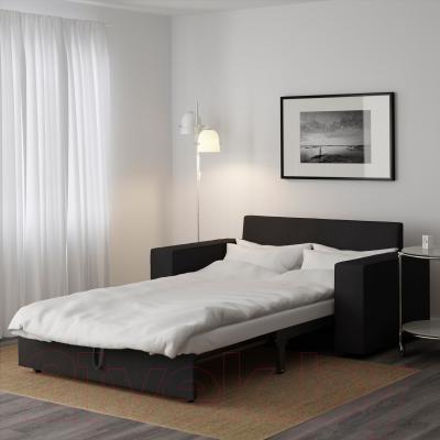Диван-кровать Ikea Виласунд 399.072.18 (темно-серый) - в разложенном виде