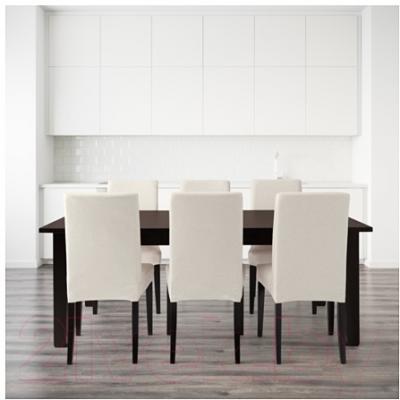 Обеденная группа Ikea Стурнэс / Хенриксдаль 399.173.35 (коричнево-черн./Линнерид неокр.) - Инструкция по сборке 2