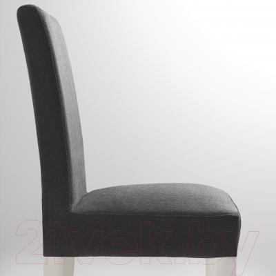 Стул Ikea Хенриксдаль 399.264.53 (белый/темно-серый)