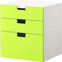 Комод Ikea Стува 490.142.13 (зеленый) -