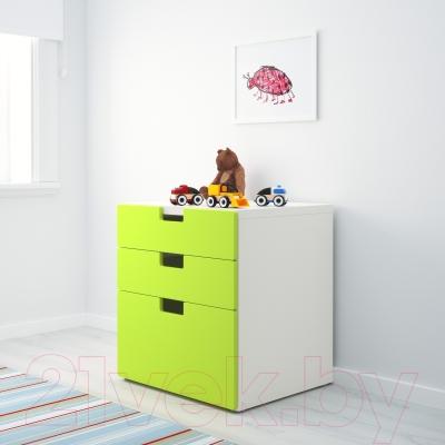 Комод Ikea Стува 490.142.13 (зеленый)